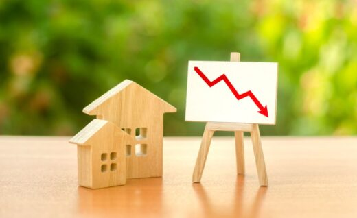 Baisse Vente Immobilier