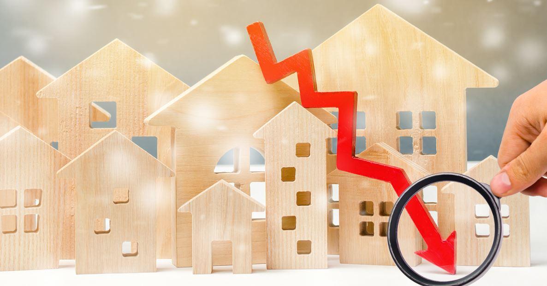 Baisse Vente Logement Immobilier