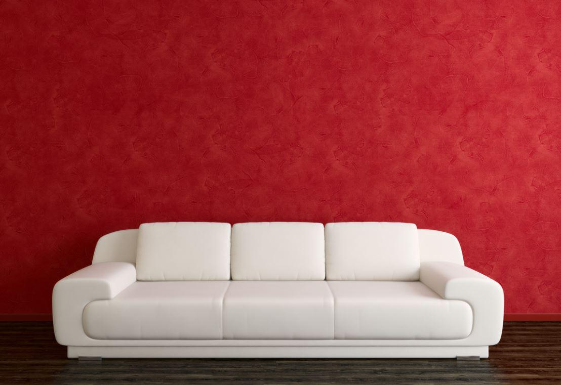 Canapé Blanc Et Large Pour Plus De Confort