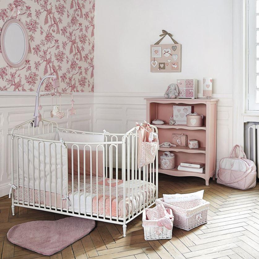 Chambre Champêtre Pour Petite Fille Romantique