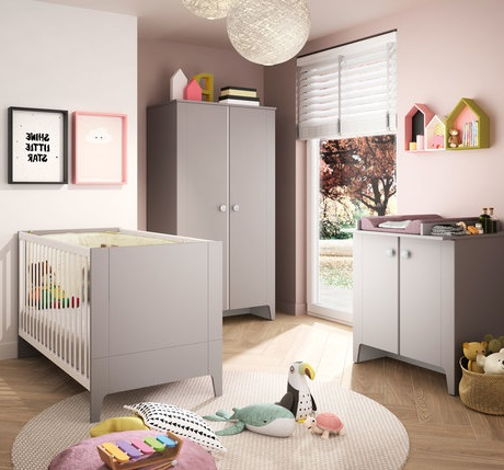 Chambre Taupe Et Rose