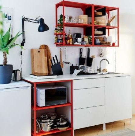 Cuisine Ikea Blanche, Polyvalente Et Pratique
