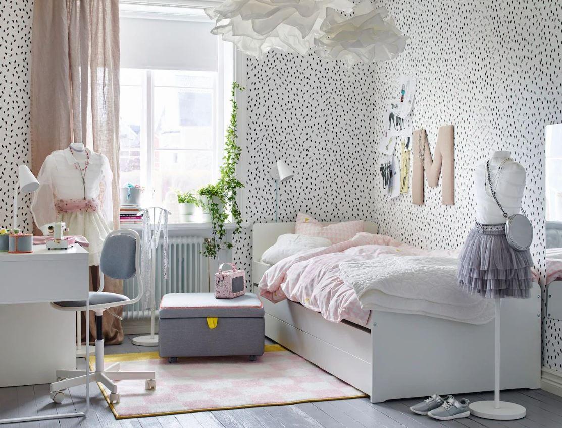 Chambre ado fille Ikea : 9 modèles pour vous inspirer