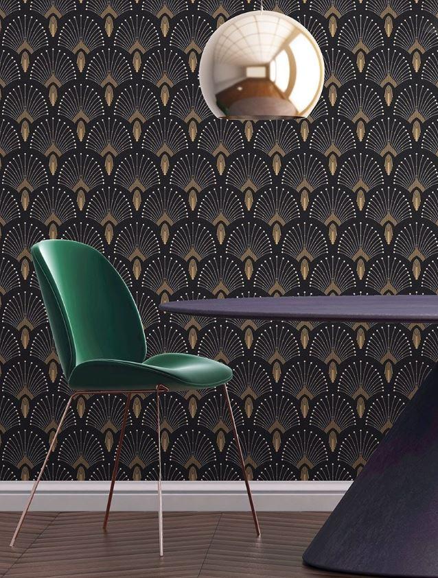 Noir Neo Art Deco