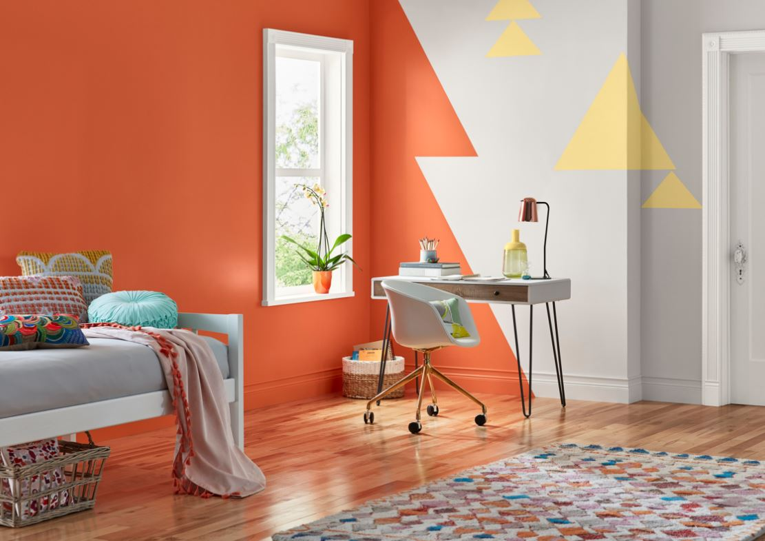 Interieur Tendance En Orange