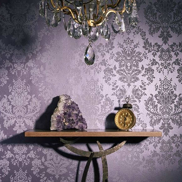 Lavande, Violet Et Or Baroque