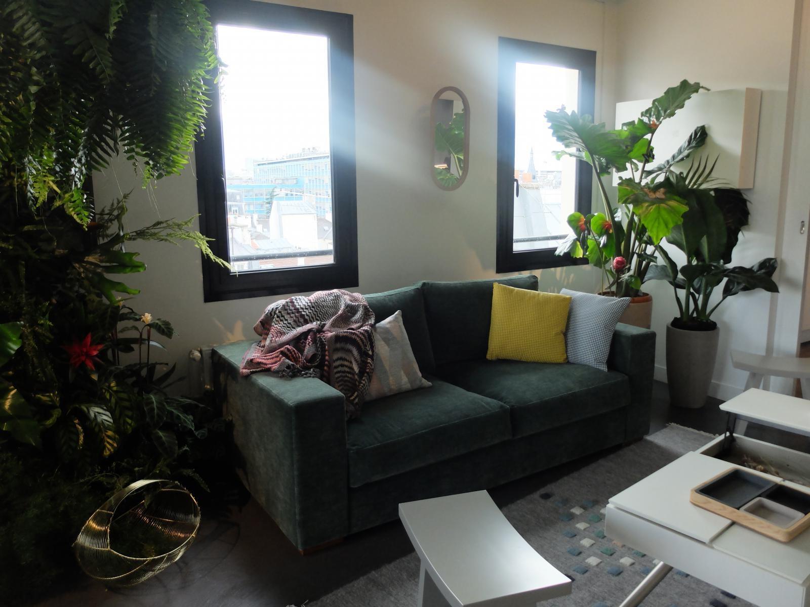Vegetation Luxuriante Pour Une Deco Jungle