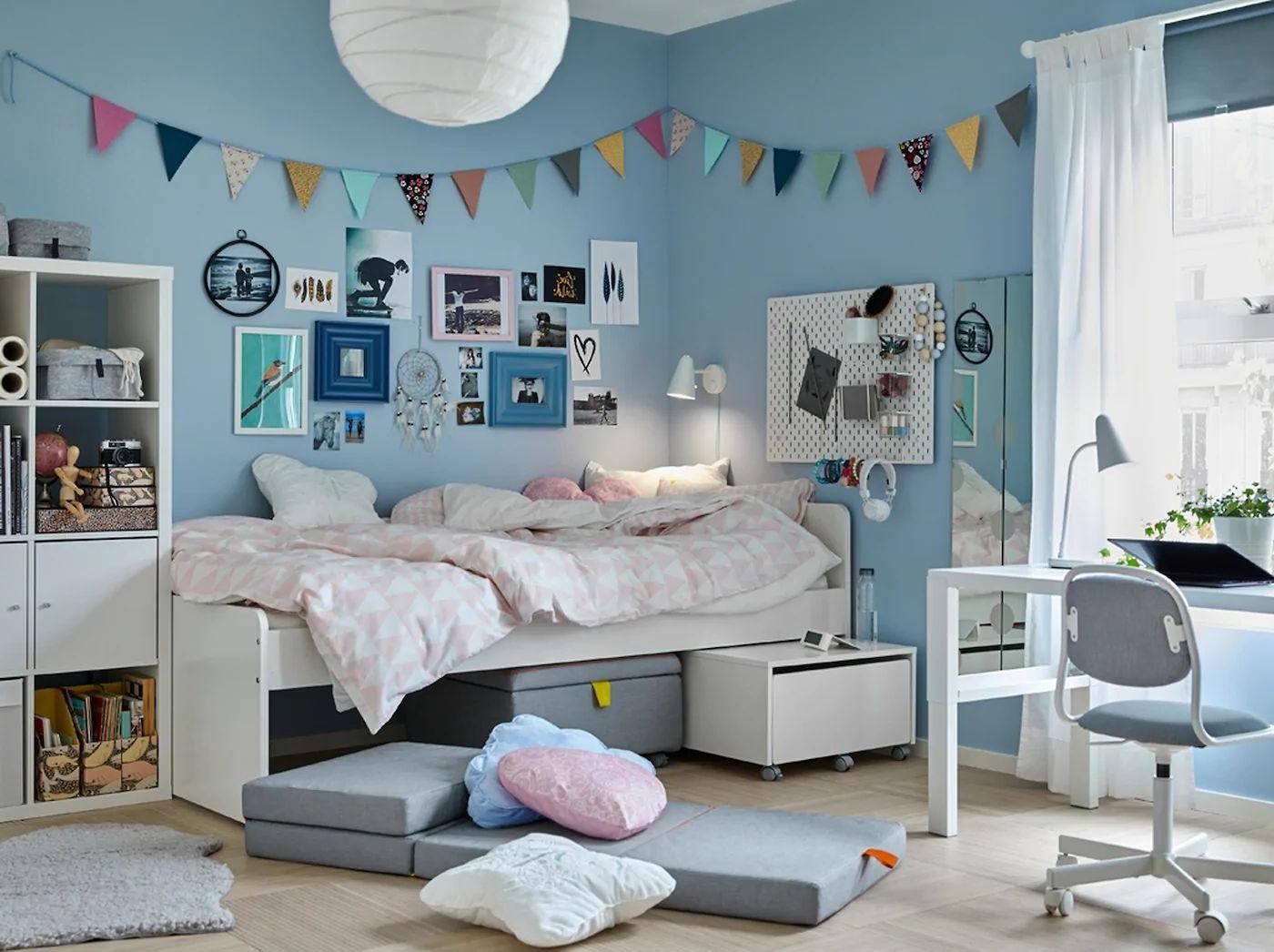 Chambre ado fille Ikea : 8 modèles pour vous inspirer