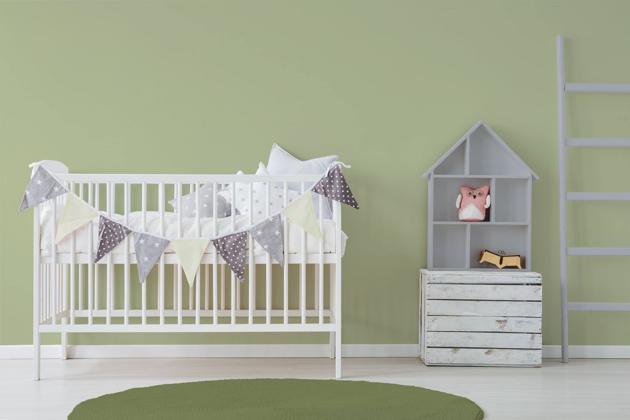 Chambre De Bebe Vert Amande