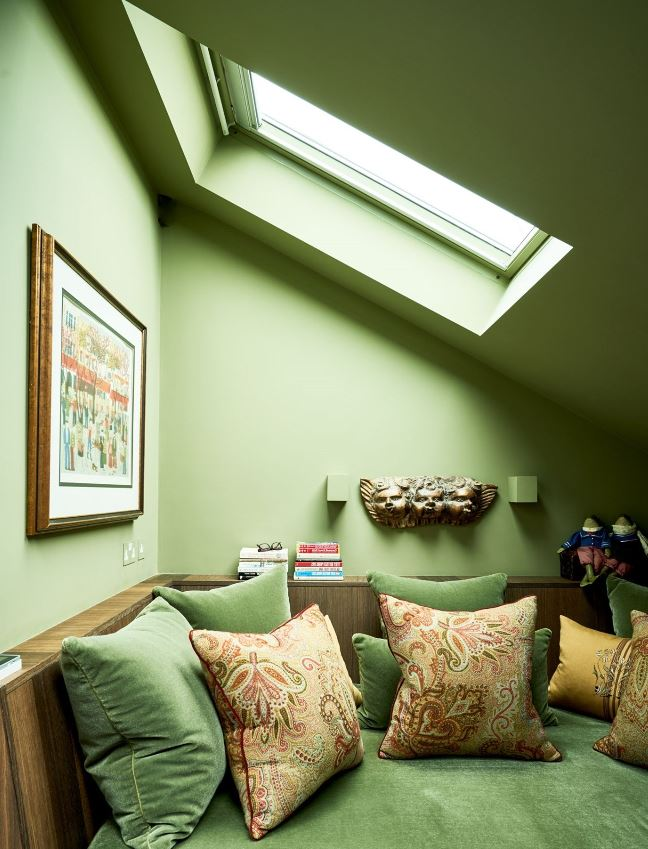 Un Vert Pour Colorer La Luminosite