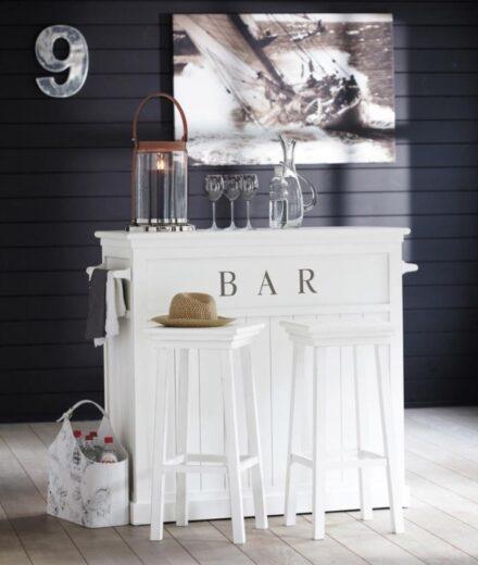 Espace De Bar Pour Une Cuisine Conviviale