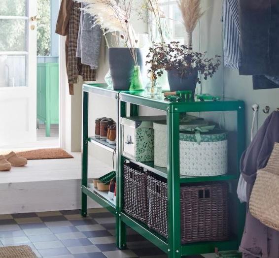Tagère Basse Ikea Pour Vous Aider à Optimiser L'espace De Rangement