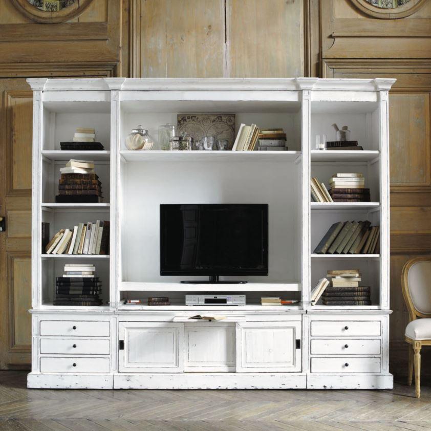 Grande Bibliothèque Meuble Tv Au Style Très élégant