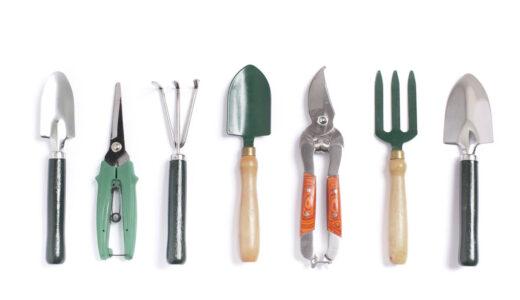 petits outils du jardin d'intérieur