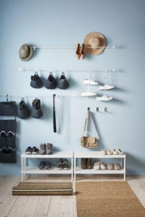 Meuble à Chaussures Blanc, Simple Et Pratique