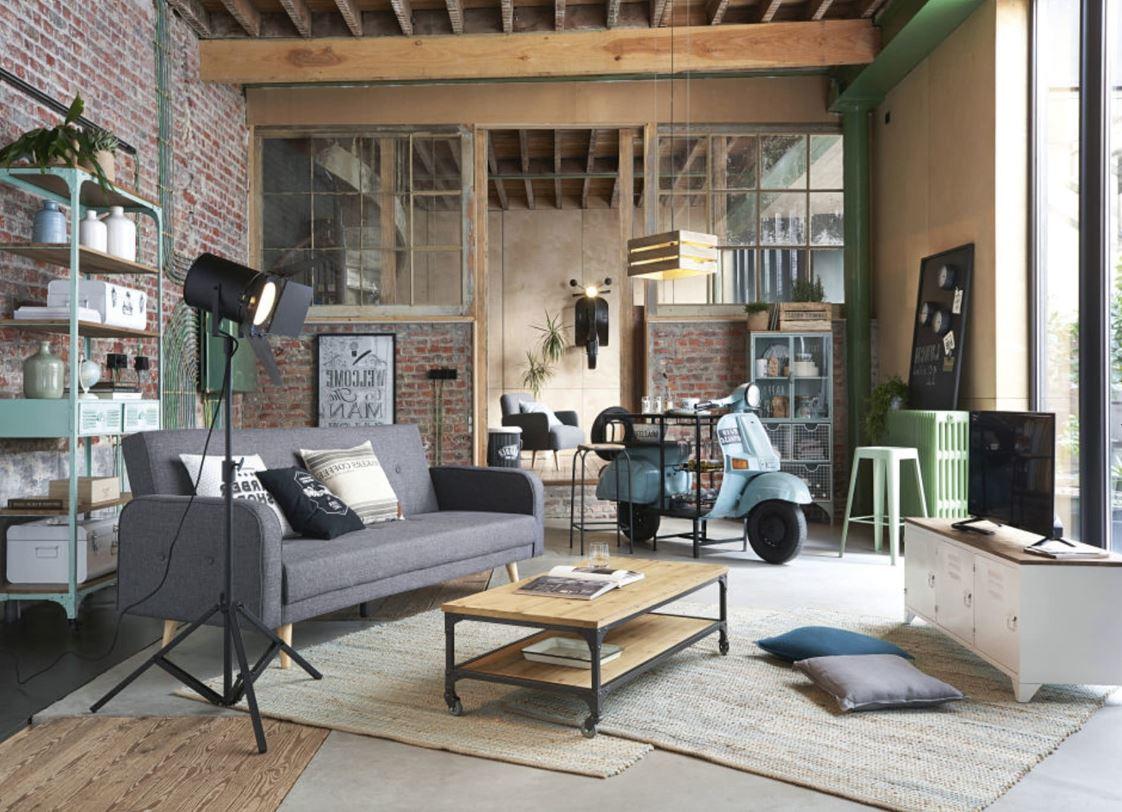 Meuble Industriel Blanc Pour Un Style Moderne Et Chic