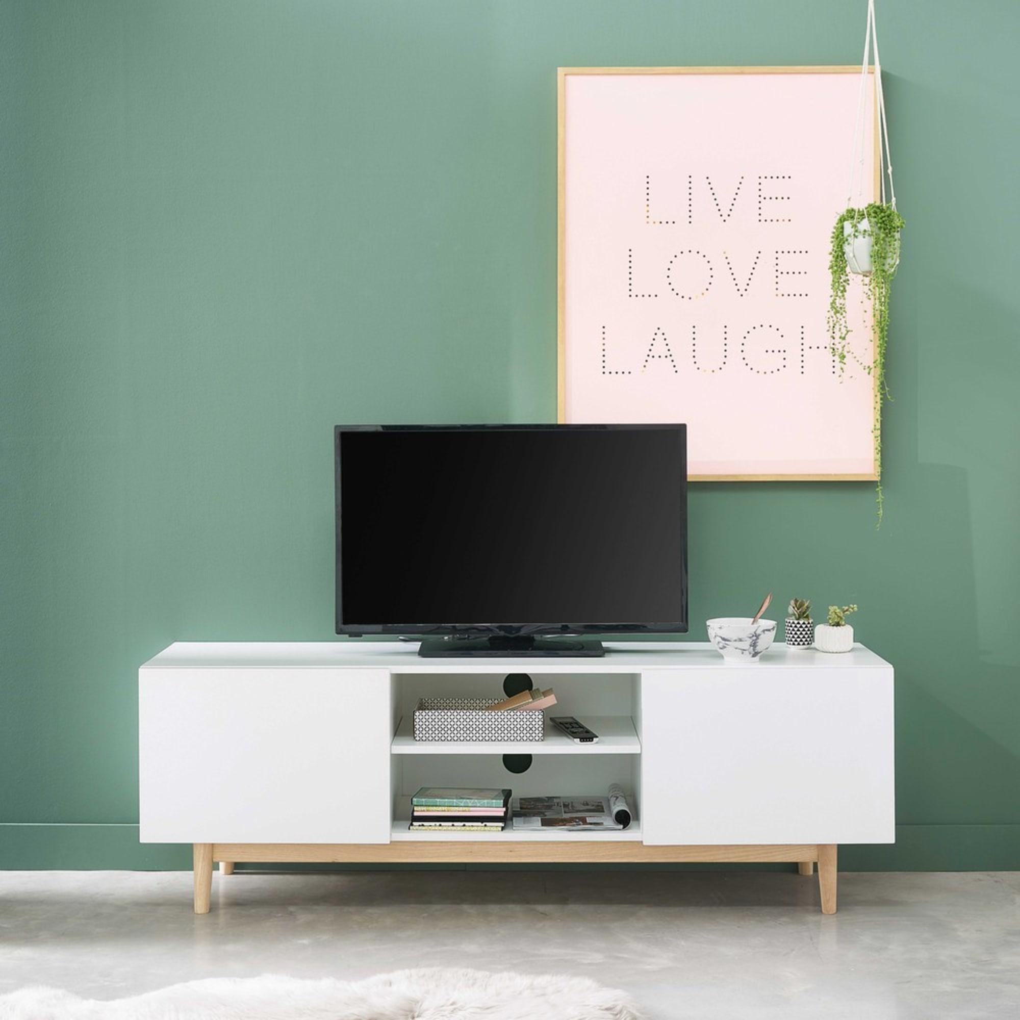 Meuble Tv Vintage Blanc à Moins De 200 Euros