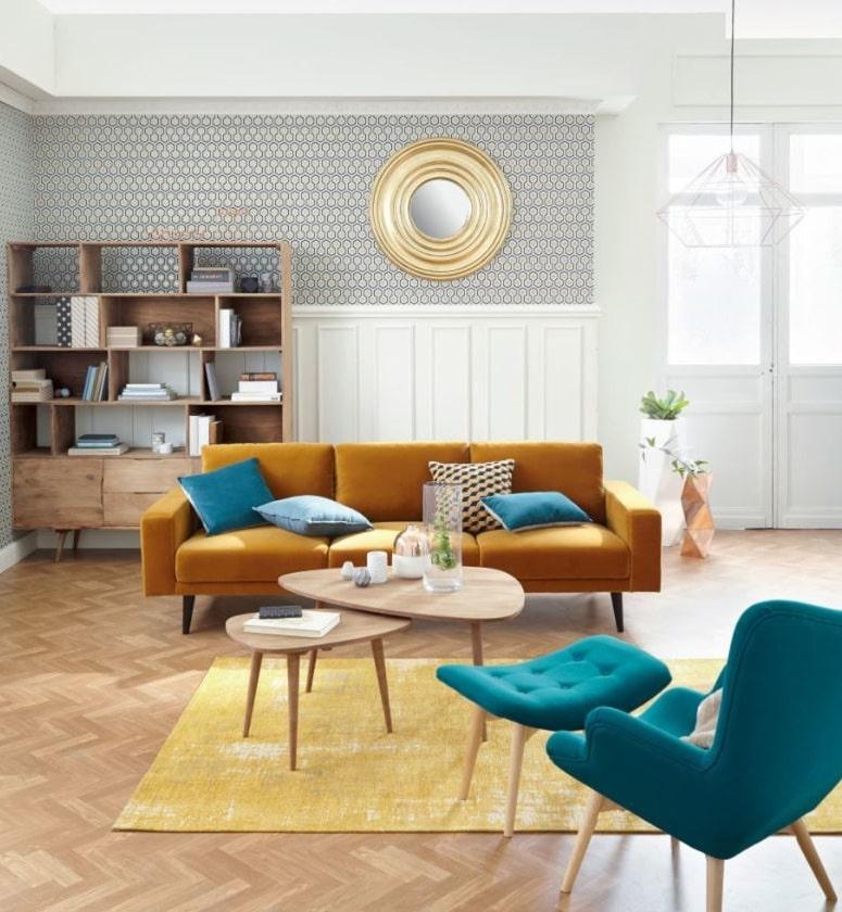 Trocadero, Une Table De Style Vintage Scandinave En Bois