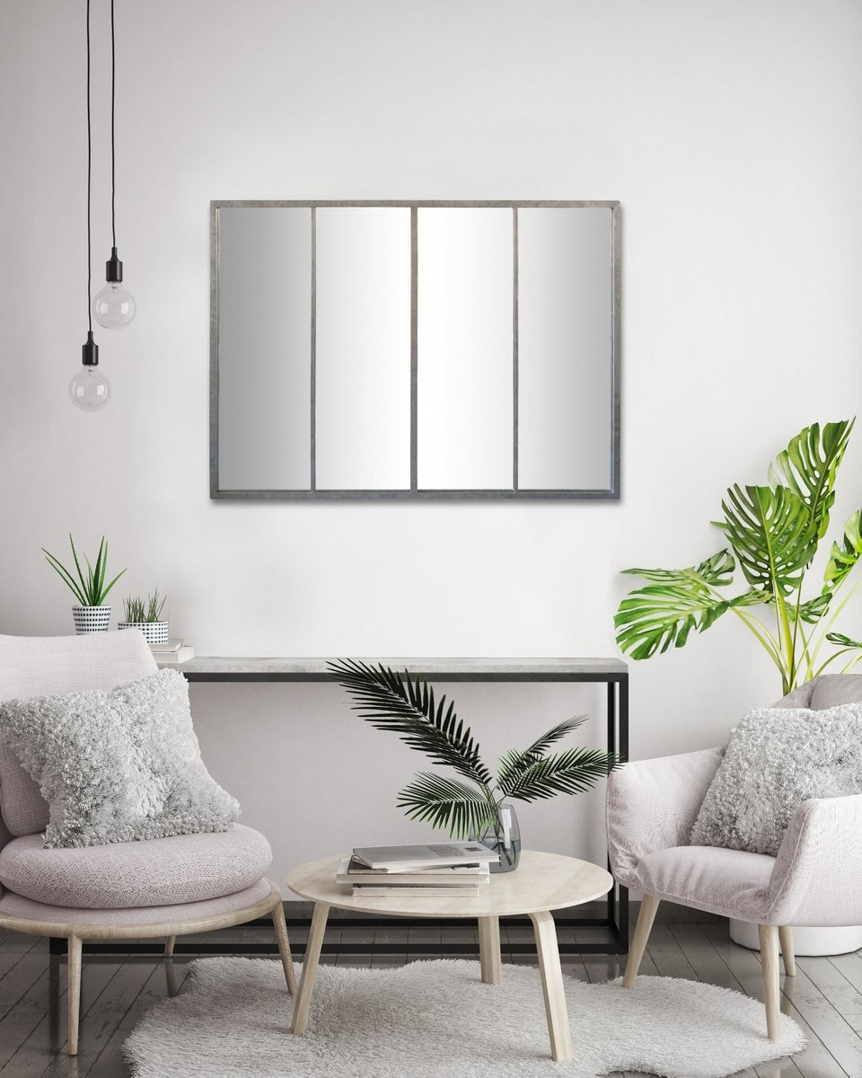 Miroir Verriere Gris