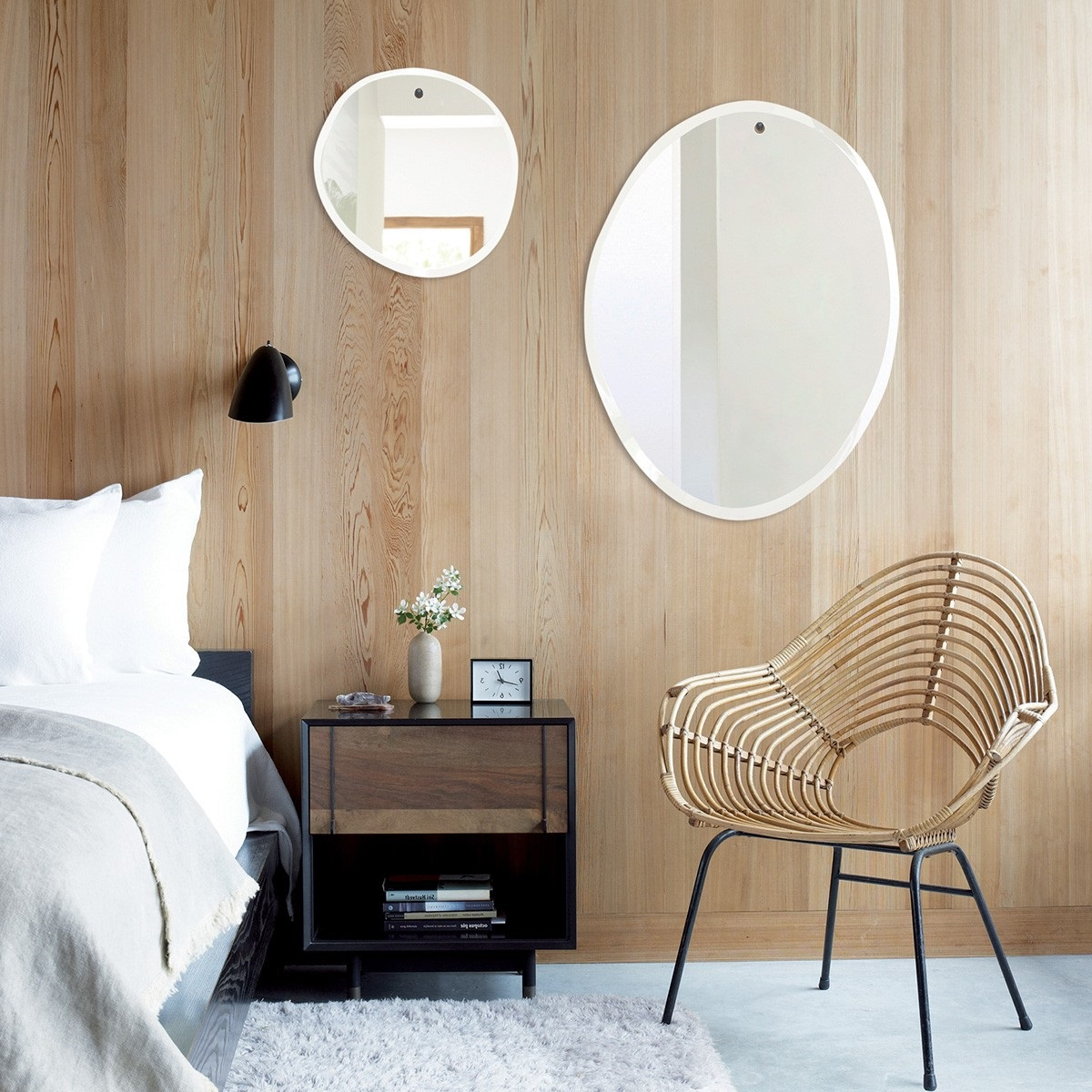 Miroirs Design Asymetriques