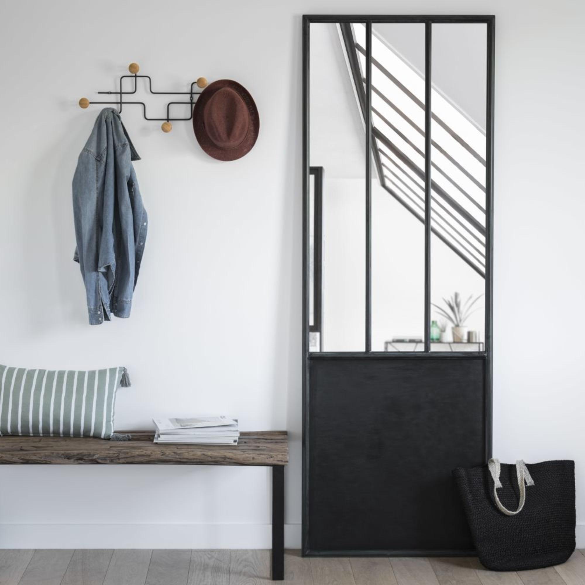 Miroir Verriere Façon Porte
