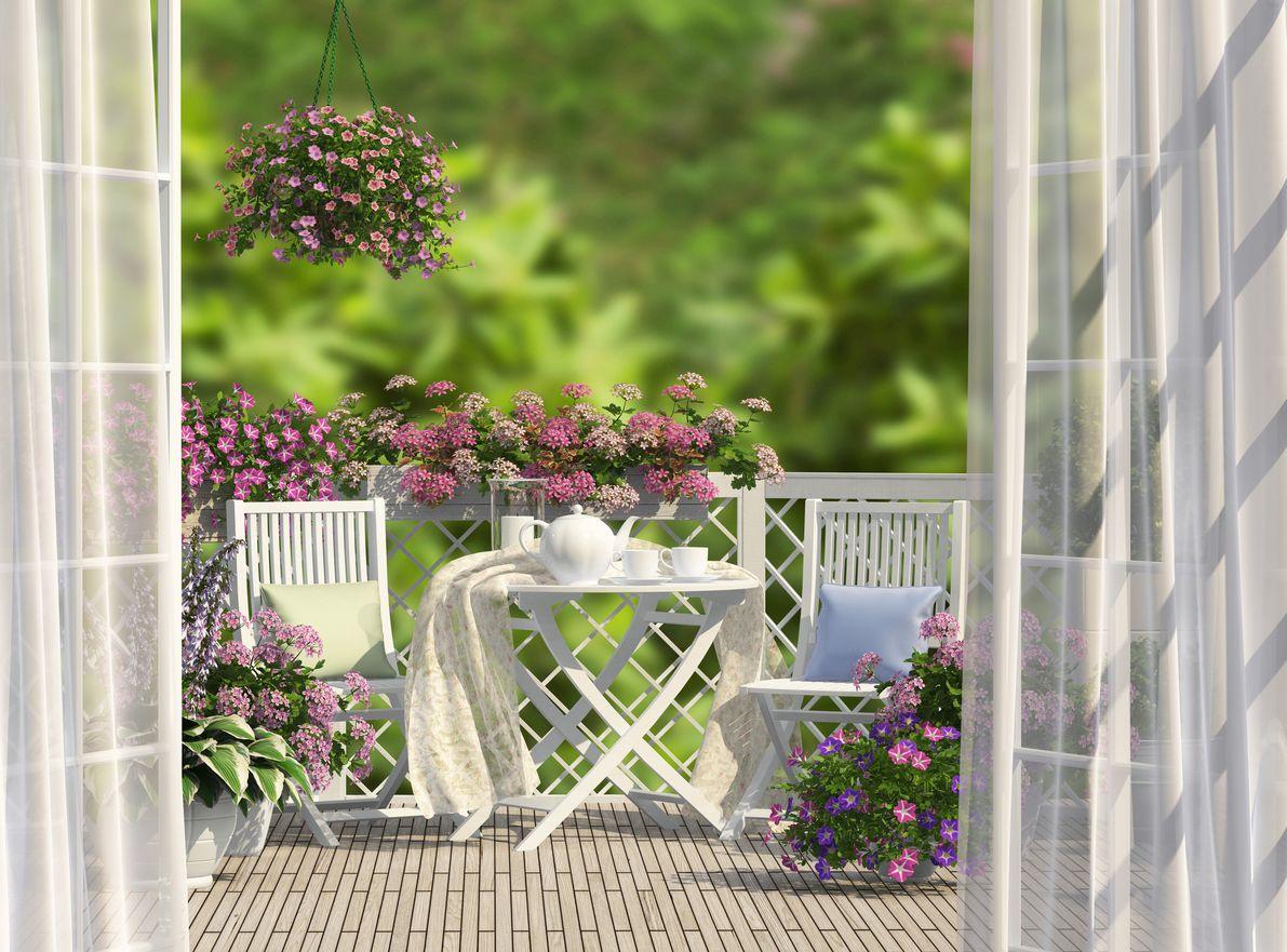 Un Balcon Romantique