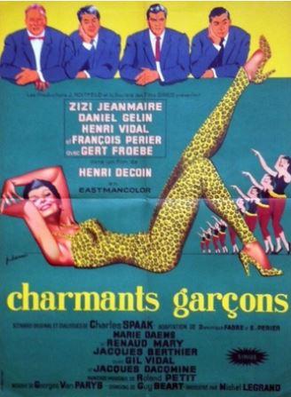 Affiche De Cinéma Vintage à La Une
