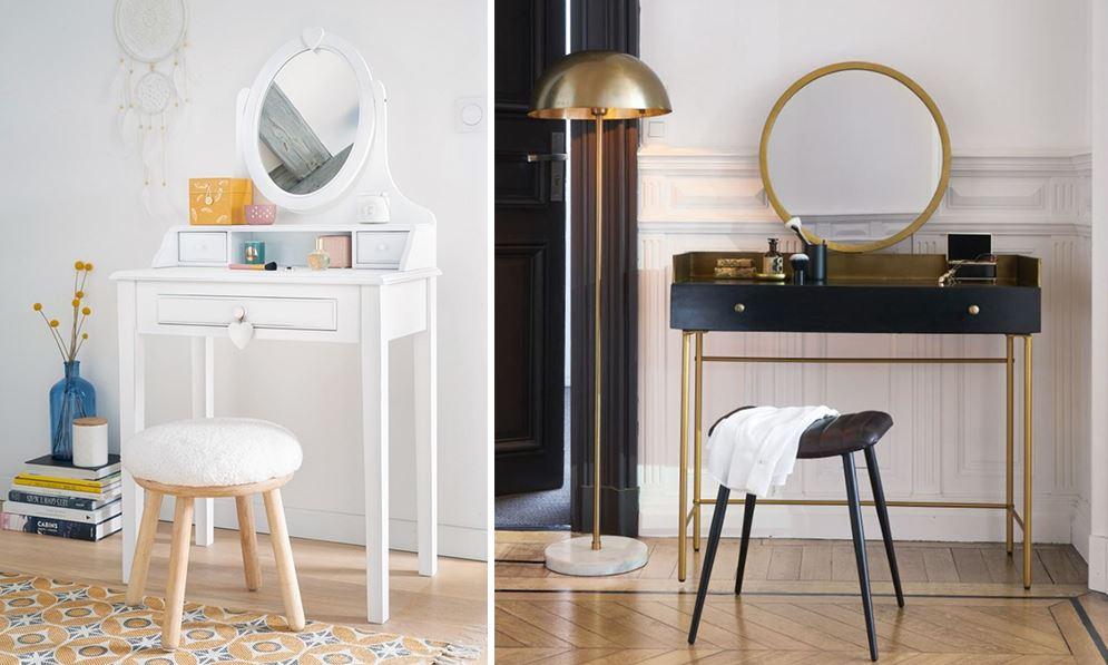 Coiffeuse Maisons du Monde : 9 modèles pour votre chambre