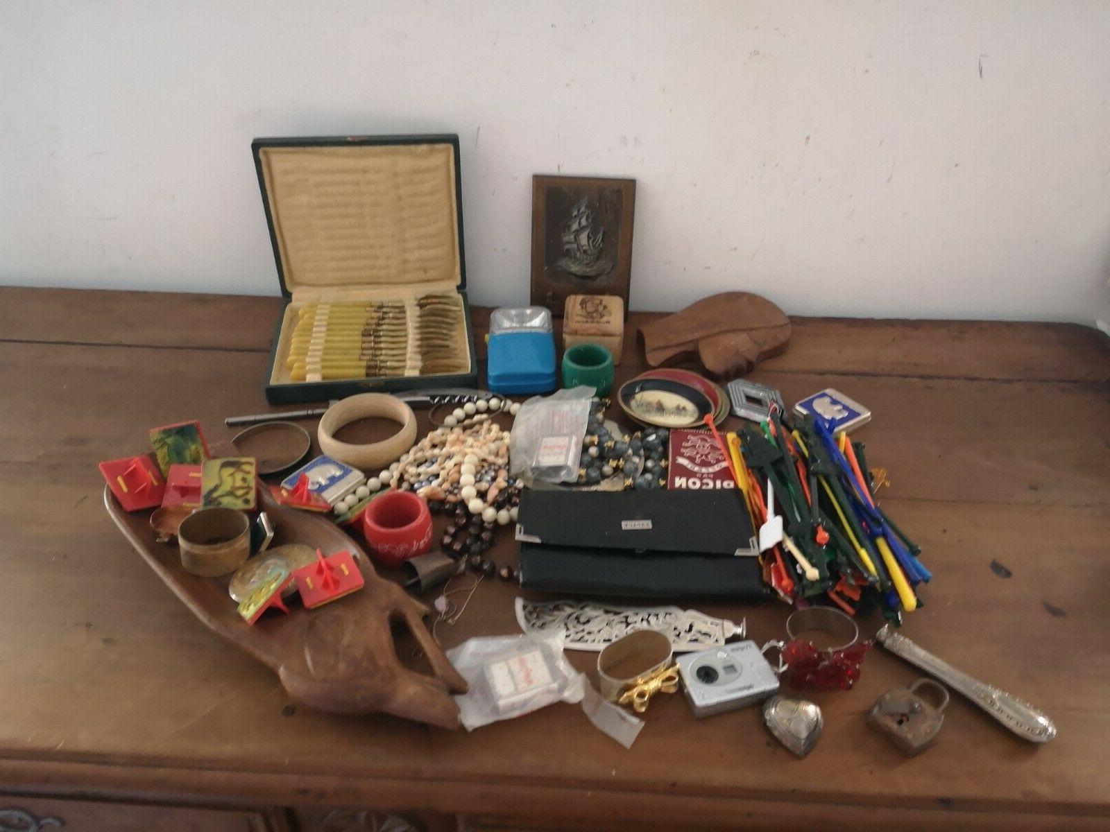 Lot D'objets Anciens