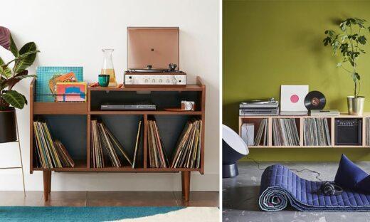 Rangement Vinyles