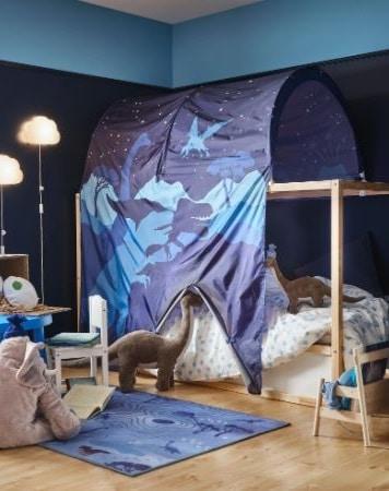 Tente De Lit Ikea Bleue