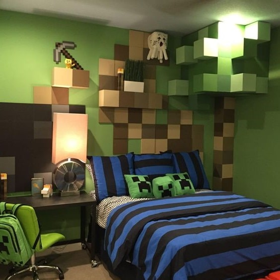 Chambre Gaming Minecraft