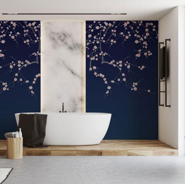 Papier Peint Fresque Sakura