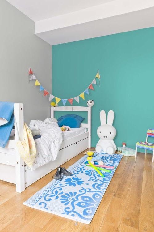 Chambre Enfant Vert Turquoise –