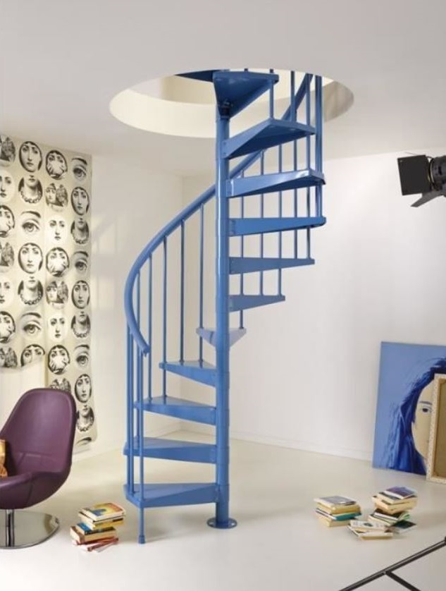 Escalier En Colimaçon Colore