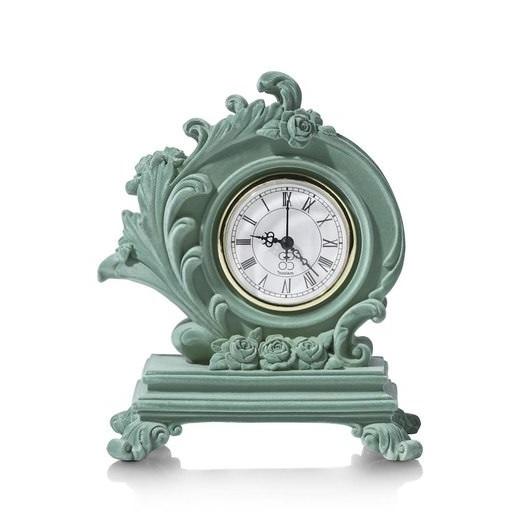 Horloge De Style Baroque Vert Menthe