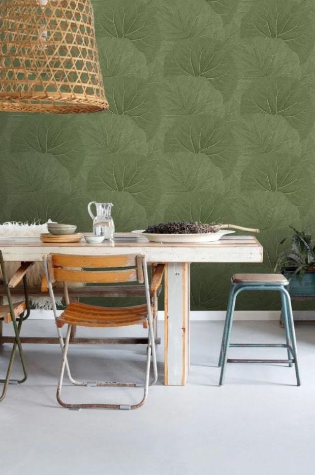 Salle à Manger Vert Olive