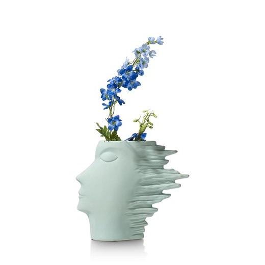 Vase Design Vert Menthe