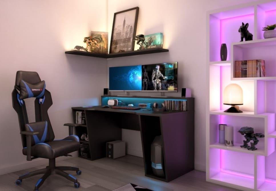 Bureau Gamer Avec Led Bxgaming