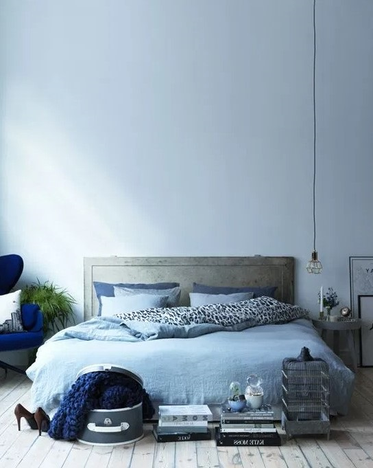 Chambre Bleue Nature Sauvage