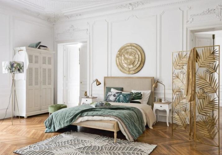 Une Chambre Au Style Naturel Chic