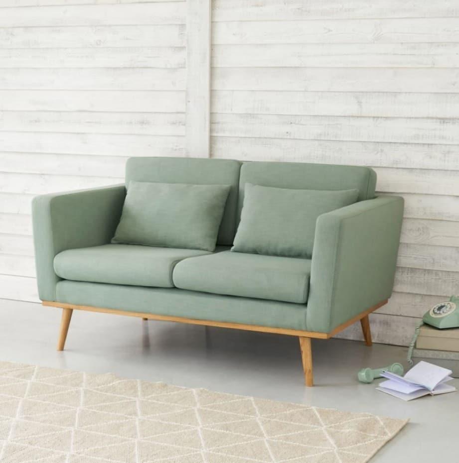 Canapé Vert De Gris Timeo