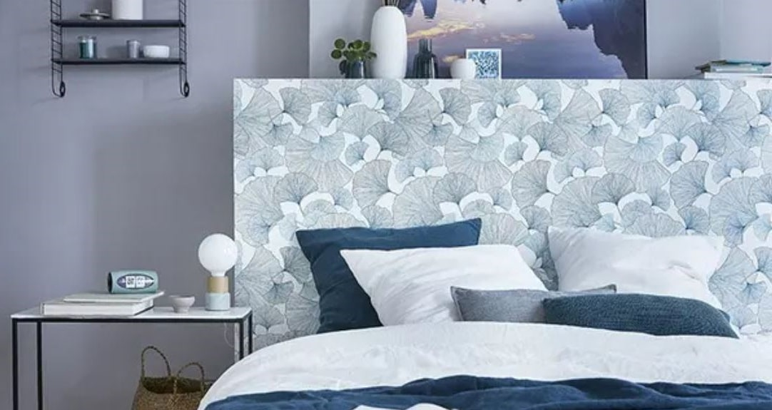 Chambre Bleu Style Japonais
