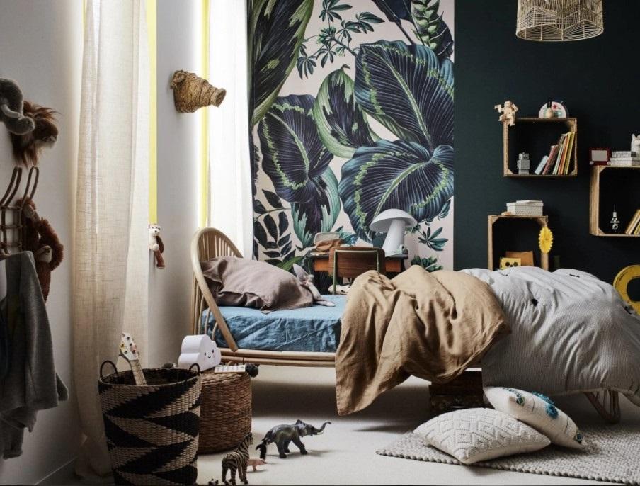 Chambre D'enfant Style Tropical