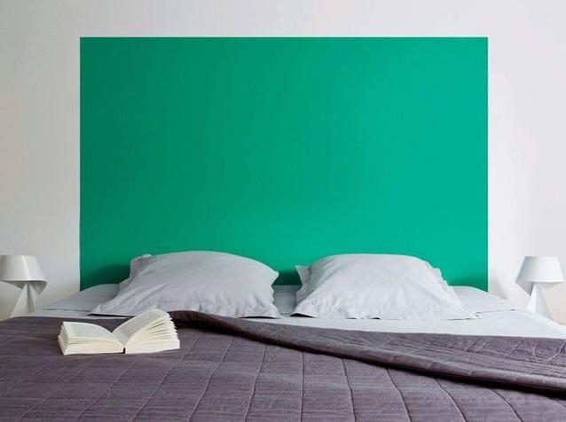 Vert Turquoise Tete De Lit –