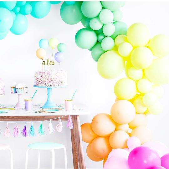 Ballons Unis Coloris Tendance
