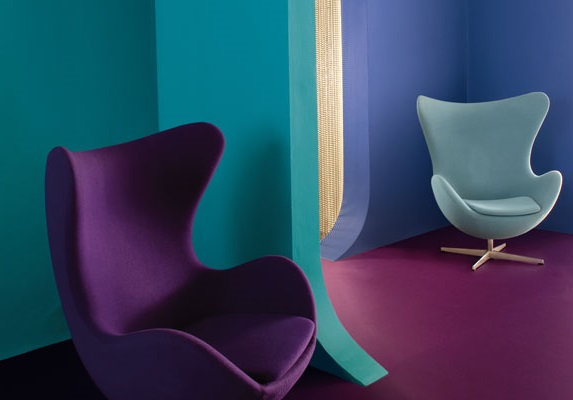 Vert Turquoise Et Violet