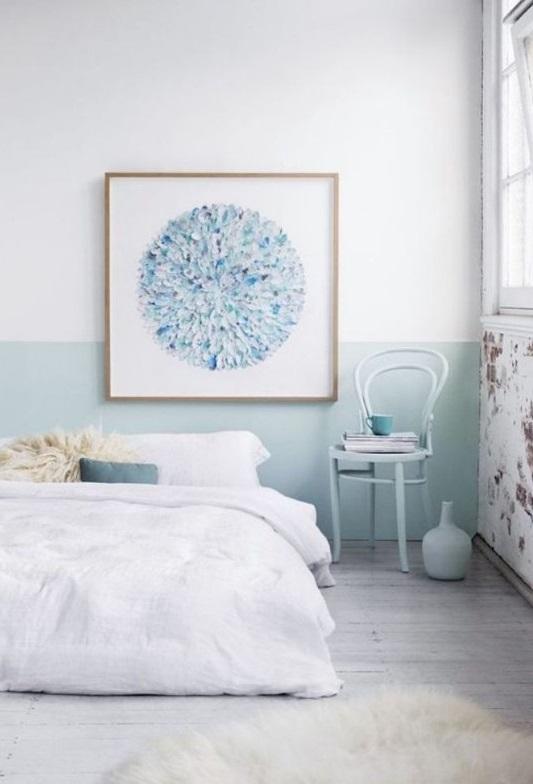 Chambre Parentale Bleu Glacier