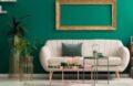 Illustration Vert Deco