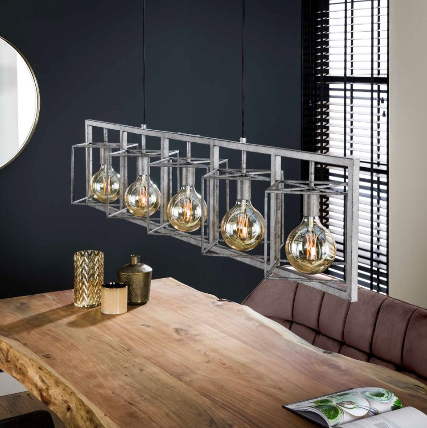 Suspension Tribeca En Metal Vieilli